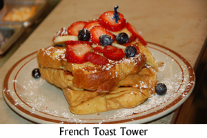 French Toast Tower Special