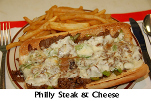 Philly Steak and Cheese