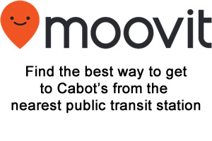 Wondering how to get to Cabot's Ice Cream & Restaurant in Newton, United States? Moovit helps you find the best way to get to Cabot's Ice Cream & Restaurant with step-by-step directions from the nearest public transit station.