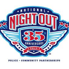 National Night Out - Tuesday August 7th 2018 5pm-8pm